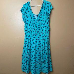 Torrid Size 1 (Large 12)  Green Dress N-10
